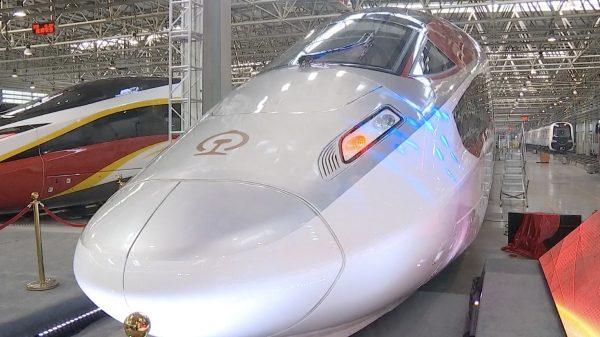 Erster Güterzug mit einer Geschwindigkeit von 350 Km/h wird in China in Betrieb genommen