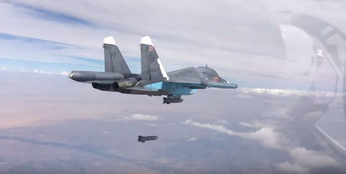 For the First Time Ever Russia Bombs Ex-Syrian Rebels in Turkish Service