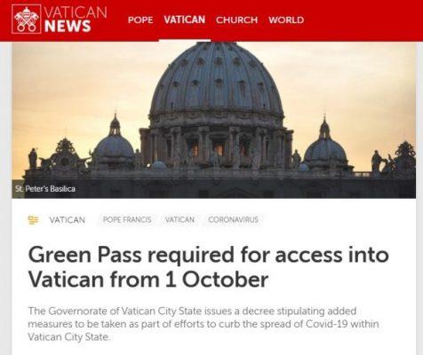 Se necesita pasaporte del Covid del Vaticano.jpg